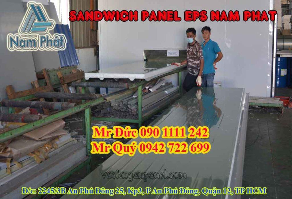 Nhà máy sản xuất vách ngăn panel eps cách nhiệt